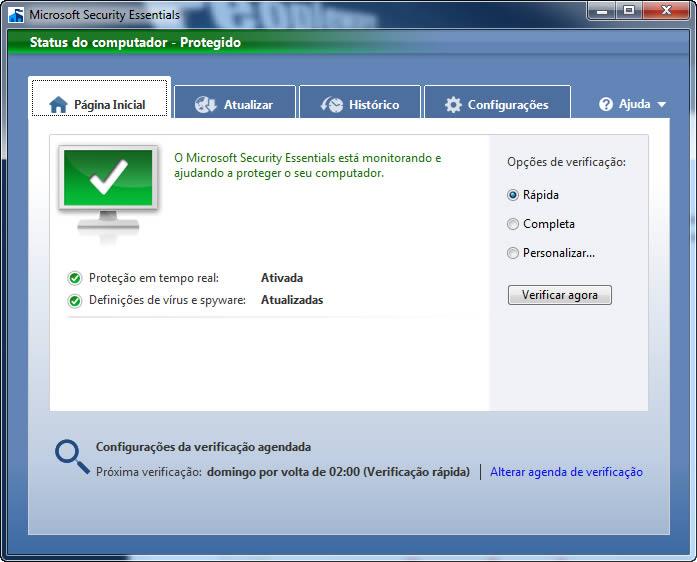 microsoft security essentials - É hora de trocar o anti-vírus do seu computador