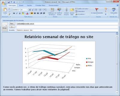 Adicione um atalho na barra de tarefas para criar rapidamente mensagens baseadas num modelo