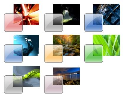 Dica instale m ltiplos temas simultaneamente no windows for Window 07 themes